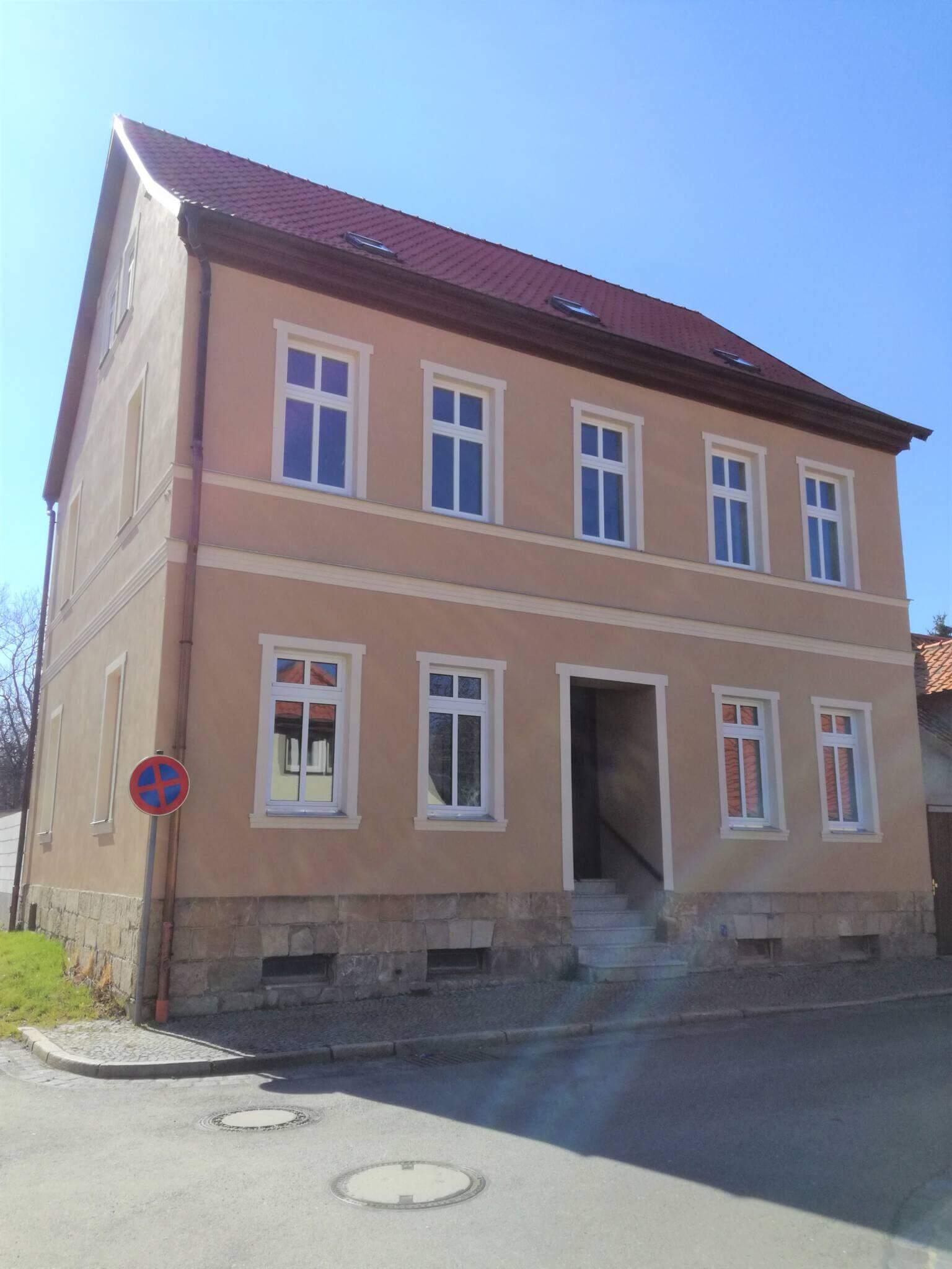 Mehrfamilienhaus Ballenstedt Außenansicht